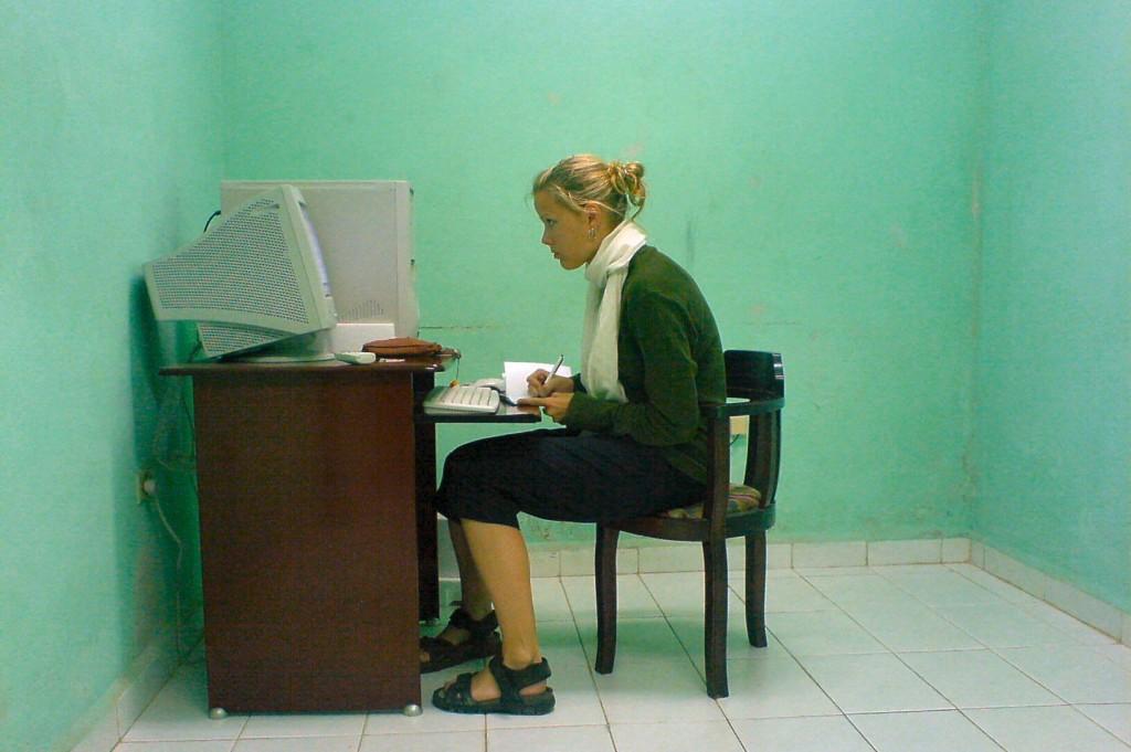 Navegar en Internet en Cuba, sin el Internet Ibiza