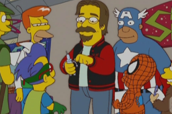 Futurama y Simpsons en Ibiza